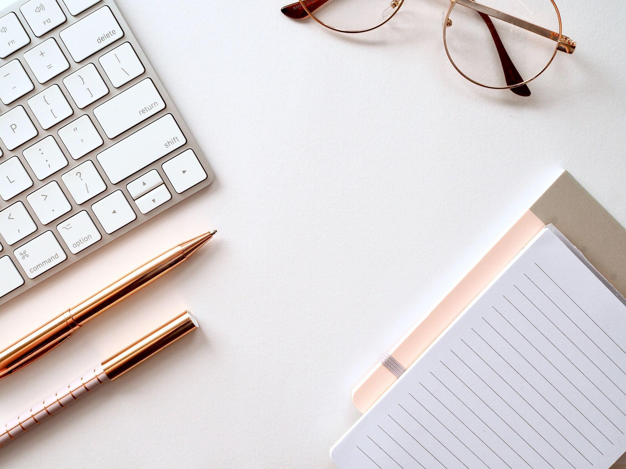 Service schreiben Text und Tastatur