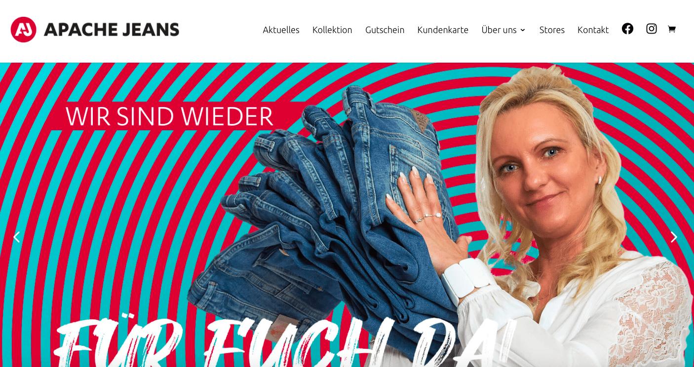 SEO Websitetexte Fashion Yeans