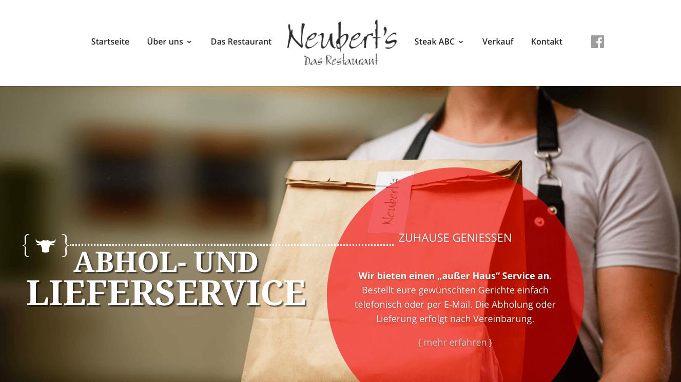 SEO Websitetexte Neuberts Restaurant