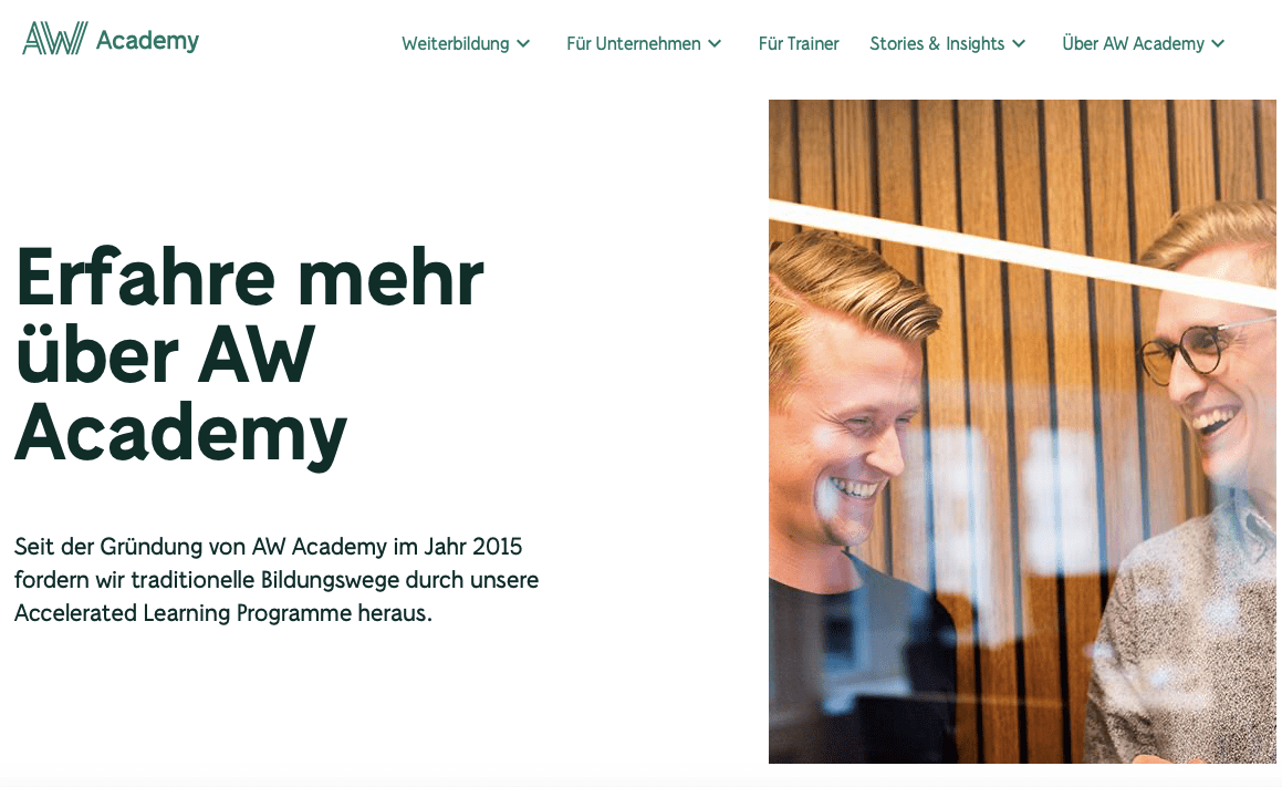 Website Relaunch Corporate Content IT