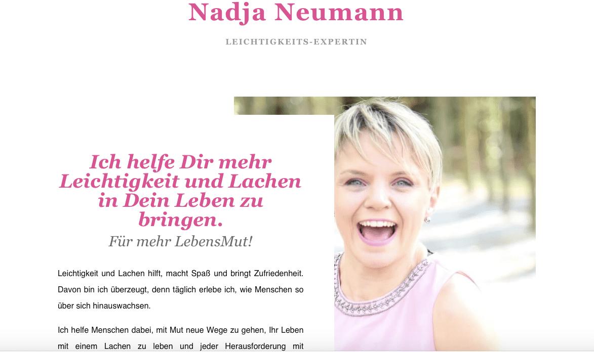 Nadja Neumann Webtexte