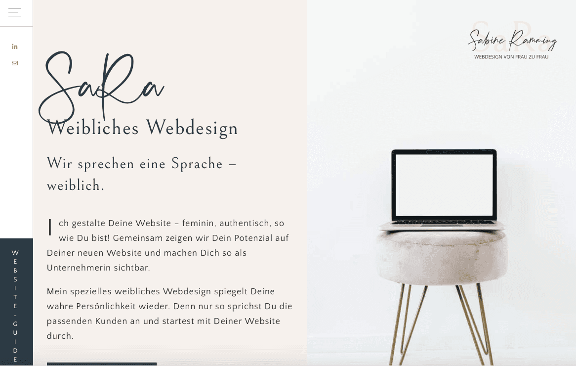Website Storytelling Webdesign